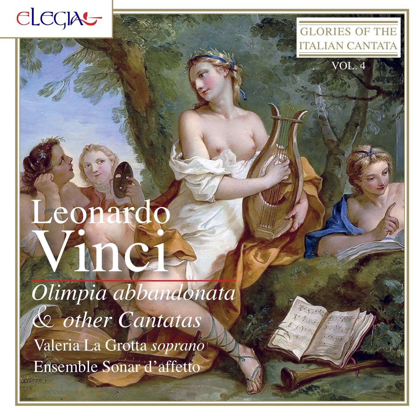 Valeria La Grotta, Ensemble Sonar d'Affetto – Leonardo Vinci